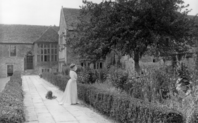South Wraxall Manor House The garden at South Wraxall Manor House. Country Life Images, 1905
