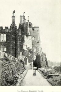 The Terrace at Berkeley Castle from Memorials of Old Gloucestershire, 1911