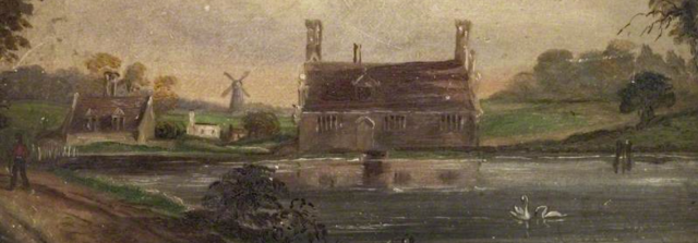 Bourne Mill, Colchester unknown artist http://artuk.org/discover/artworks/bourne-mill-colchester-2418