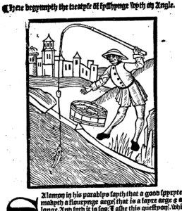 from This present boke shewyth the manere of hawkynge [and] huntynge Date: 1496