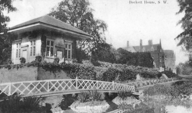 The China House, and Beckett Hall, c.1905-20. courtesy of Paul Williams. http://www.shrivenhamheritagesociety.co.uk/listing.asp?listID=165