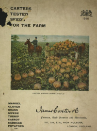 the cover oif the 1907 agrciultural catalogue