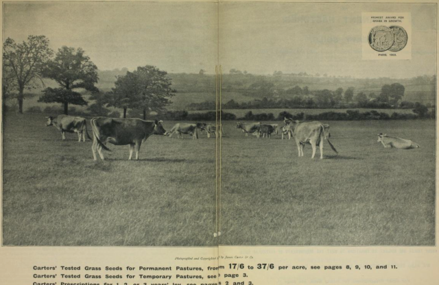 from the 1901 agricultural catalogue