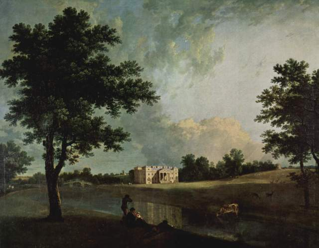 Croome Park, by Richard Wilson 1758, National Trust