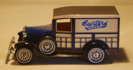 Matchbox model of a 1930 carter's van photo from ebay