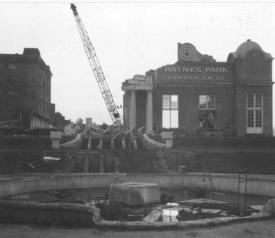 Demolition in progress http://photoarchive.merton.gov.uk/view/28602#prettyPhoto/0/