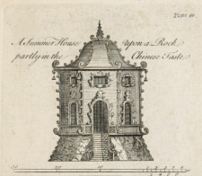 being twenty new designs, for temples, garden-seats, summer-houses, lodges, terminies, piers, &c. : on sixteen copper plates : with instructions to workmen, and hints where with most advantage to be erected