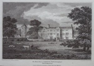 The Manor House of Weston Birt, Belonging to Robt.Holford Esqr., John Harris, 1813
