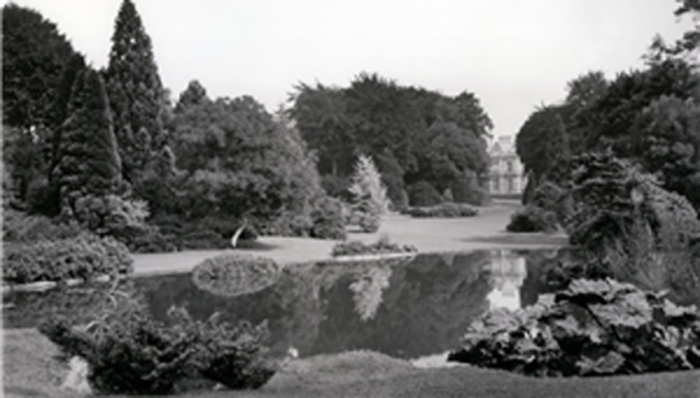 The pool garden at Westonbirt House 1907 Date1907 Source Country Life, 22 June 1907