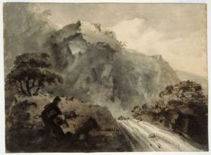 William Sawrey Gilpin (English, 1762–1843) Mountain Road, ca. 1790–1810 William Sawrey Gilpin Mountain Road, ca. 1790–1810