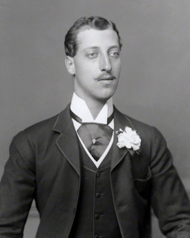 Portrait of Prince Albert Victor of Wales, by Bassano, c.1888 National POrtrait Gallery
