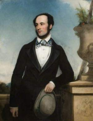 Sir Charles Isham by Henry Pickersgill,(c) Lamport Hall; Supplied by The Public Catalogue Foundation