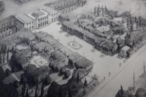 A public park in the future, from Jardins de l'Avenir, 1935