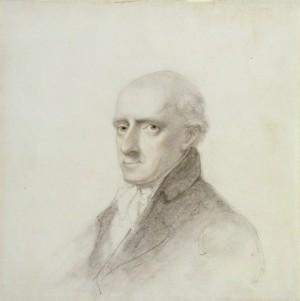 Uvedale Price, by Unknown artist, pencil and chalk, circa 1805, National Portrait Gallery