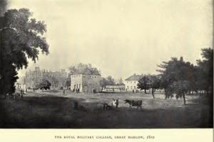 `Annals of Sandhurst : a chronicle of the Royal Military College from its foundation to the present day, with a sketch of the history of the Staff College` (London: William Heinemann, 1900) http://www.ebooksread.com/authors-eng/augustus-ferryman-mockler-ferryman/annals-of-sandhurst--a-chronicle-of-the-royal-military-college-from-its-foundat-hci.shtml AuthorMajor Augustus F. Mockler-Ferryman F.R.G.S., F.Z.S.