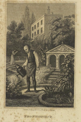 frontispiece to the 1843 ed which now has The Complete gardener as its main title although Every Man does appear - joint authors and improved by William Gowans
