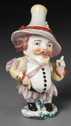 """Mansion HOuse Dwarf"" ca. 1750-1752 (made) Artist/Maker: Chelsea Porcelain factory (manufacturer)"