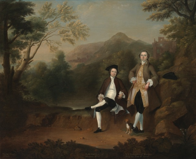 Robert Gwilym of Atherton and William Farington of Shawe hall, Laancashire, 1743 Yale University Art Gallery http://artgallery.yale.edu/collections/objects/53015