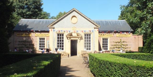 The new Tea Pavilion!