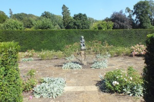 The Rose garden built on the site of the old greenhuses DM