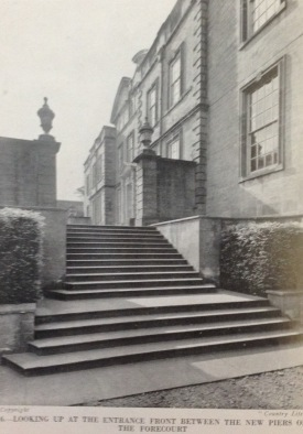 Horders steps to the new south terrace, Country Life Sept 1936