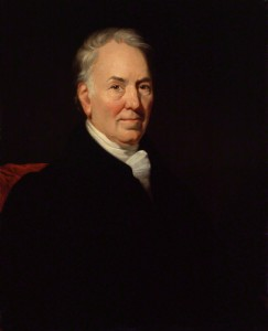 Thomas Bewick, by James Ramsay, oil on canvas, 1823 NPG
