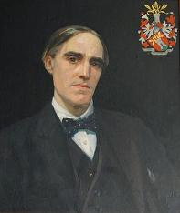 Percy Morley Horder painting in the National Institute of Agricultural Biology Cambridge