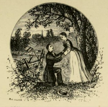from an 1879 editon of Maud drawing by H.A Herr