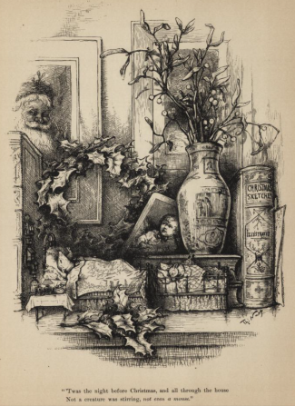 https://archive.org/stream/gri_33125008808467#page/n107/mode/2up Thomas Nast's Christmas drawings for the human race