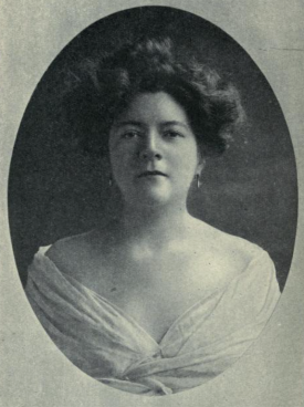 frontisfiece f A Woman in Canada, 1908