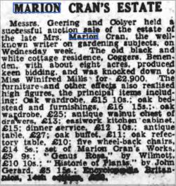 from Sevenoaks Chronicle 15th January 1943