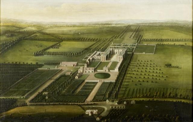 Leonard Knyff (1650-1722) A view of Orchard Portman