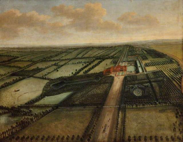 Knyff, Leonard; A Bird's-Eye View of Clandon; National Trust, Clandon Park; http://www.artuk.org/artworks/a-birds-eye-view-of-clandon-216890