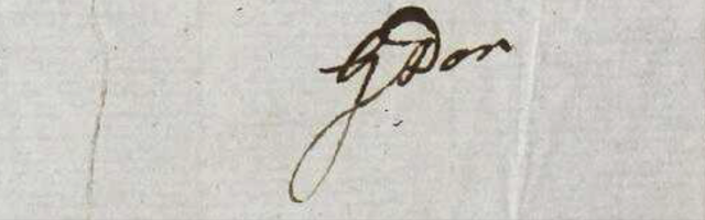 George Do's signature from http://linnean-online.org/64852/