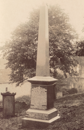 George Don Memorial Forfar. c. 1910. RBGE Library Archive http://stories.rbge.org.uk/archives/4218